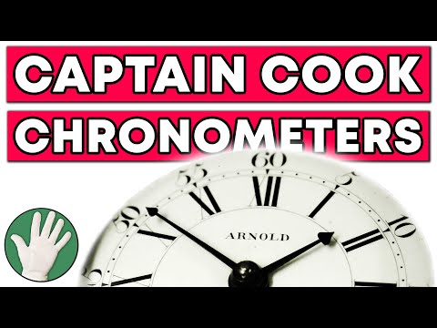 Captain Cook Chronometers - Objectivity #104