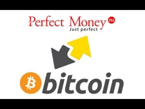 Как обменять Perfect Money на Bitcoin?