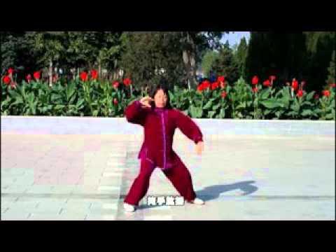 陈式太极拳83式教学_北京陈式太极拳83式(慢速、字幕、口令) - YouTube