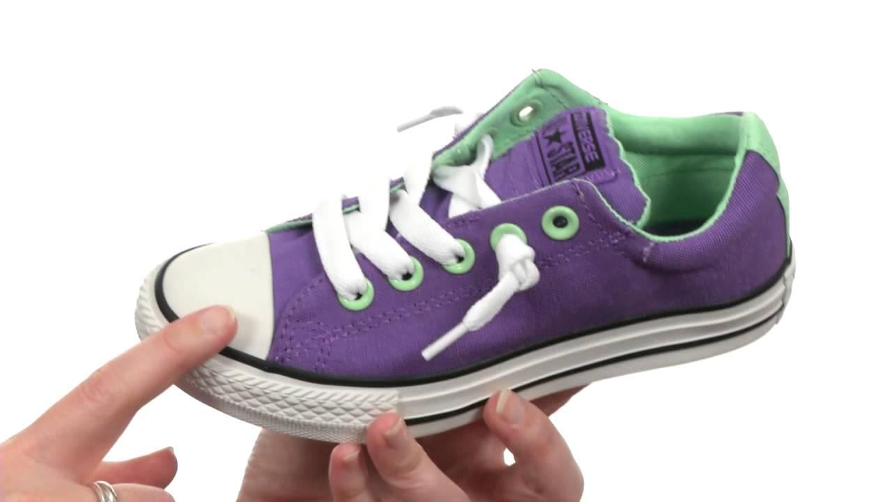 Converse Kids Ctas Street Slip Ox (Little KidsBig Kids) SKU:8426851