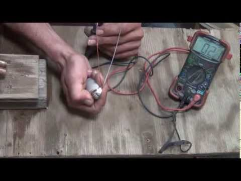How to make a thermoelectric generator from nitinol wire and copper