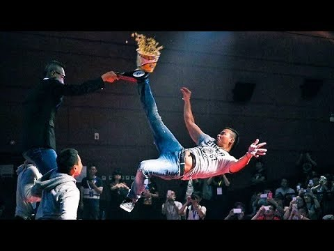 Tony Jaa Breaks World's  Highest Kick Guinness Record