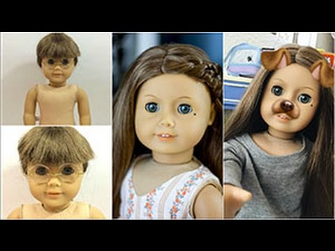 MAKING ELENA | AMERICAN GIRL CUSTOMIZATION