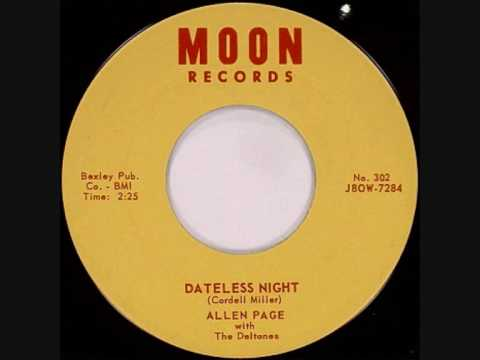 "Alan Page  ""Dateless Night"" 1958"