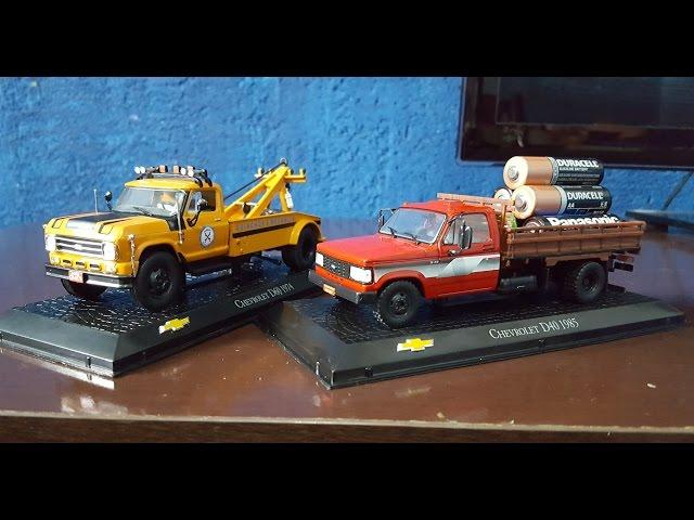 Caminhões Chevrolet Miniaturas em 1:43