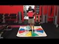 Improve Feet Stability & Ankle Mobility Using The Sensa Mat Single Leg Squat