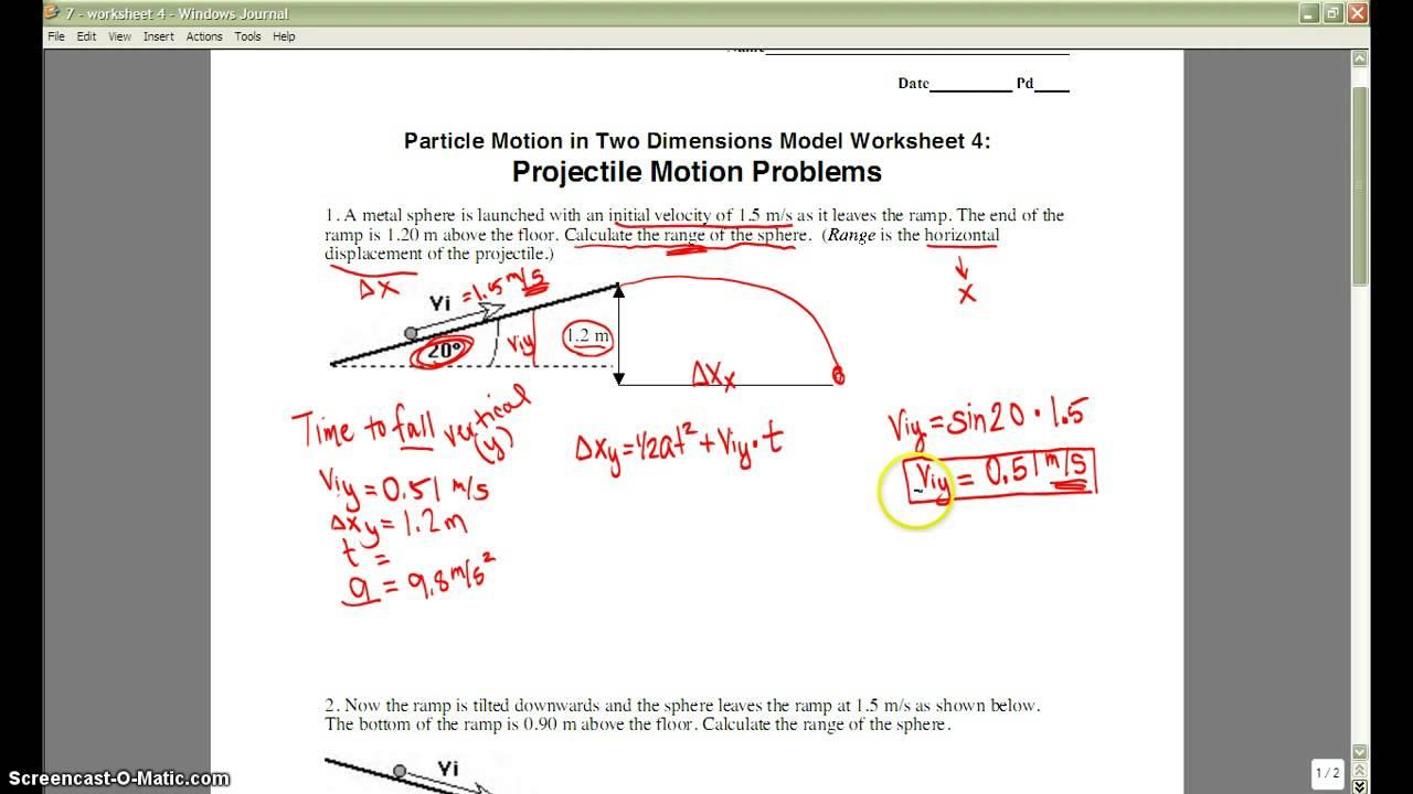 Geophysics Unit 5 Worksheet 4 Youtube