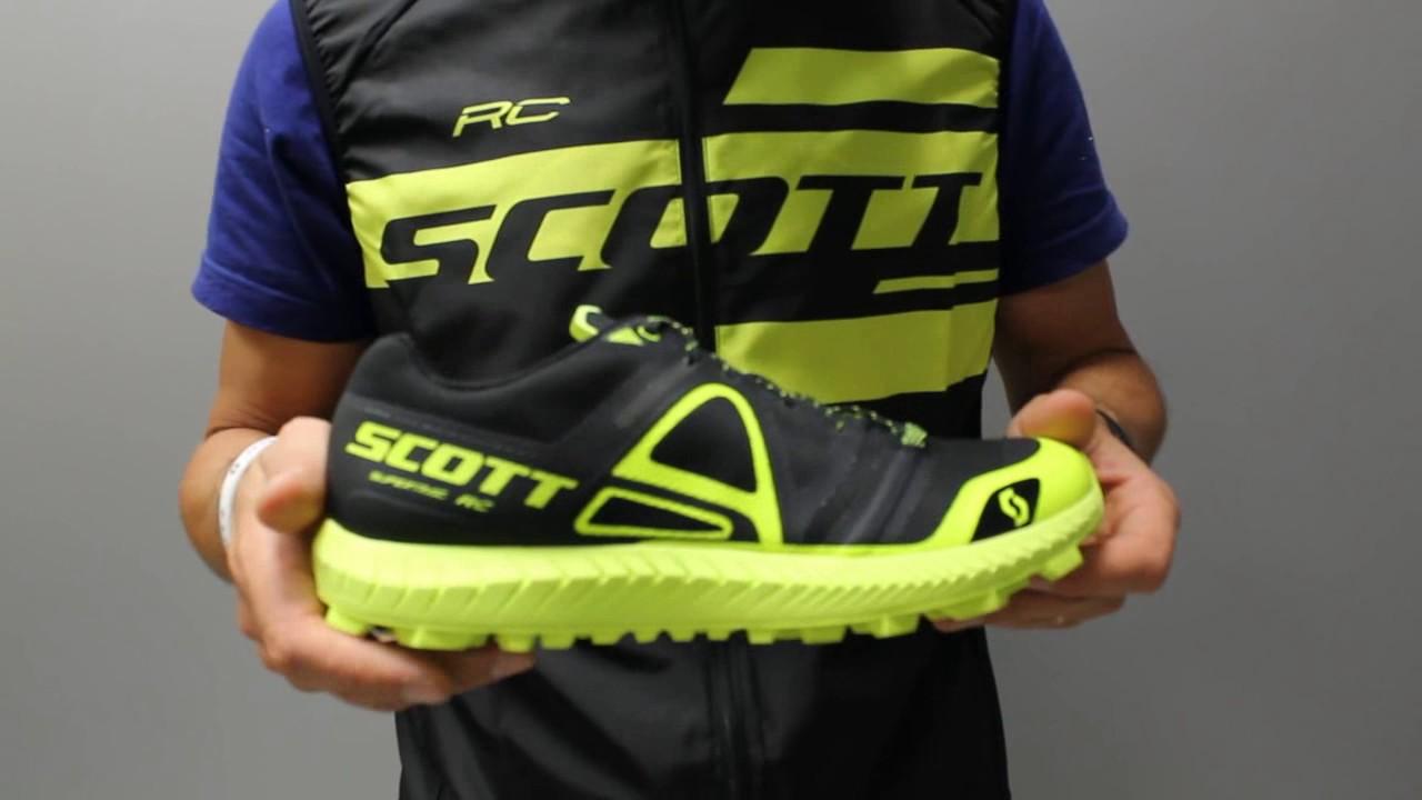 Présentation chaussures de trail Scott Supertrac RC