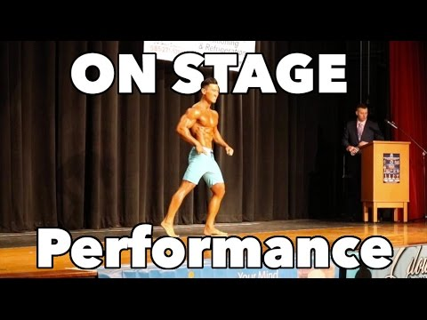 WNBF INBF Men's Physique - On stage performance thoughts and commentary