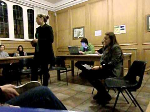 Magdalene JCR Hustings 2010: Vice President - Jo H...