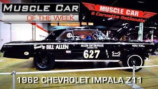 1962 Chevrolet Z11 at Muscle Car and Corvette Nationals - Muscle Car Of The Week Video Episode #198