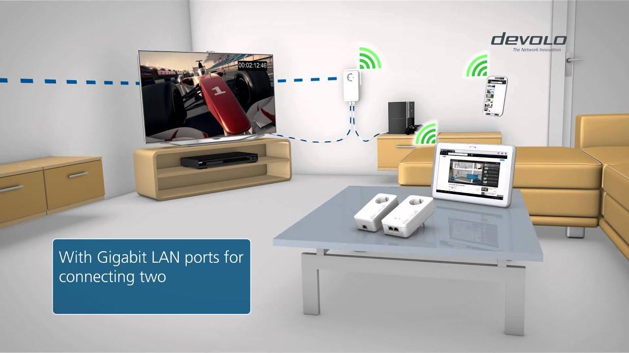 devolo dlan 1200 wifi ac english youtube. Black Bedroom Furniture Sets. Home Design Ideas