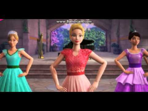 Barbie Princess and Rock star Song video