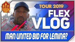 Man Utd bid for Mario Lemina? Man Utd Transfer News | Tour Vlog 2