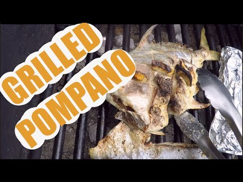 Catch And Cook Pompano Three Ways On The Grill