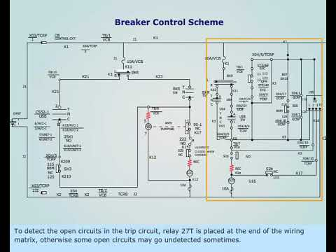standard tripping schemes and trip circuit supervision schemes for mv  switchgear | eep  electrical engineering portal