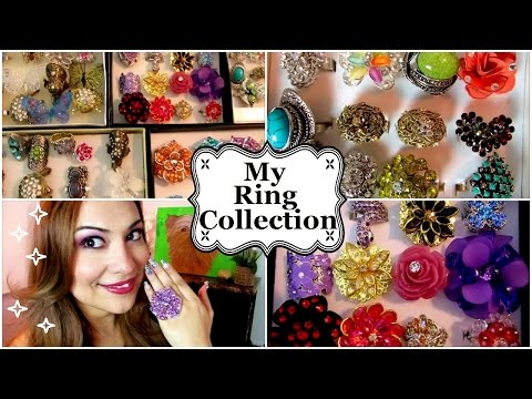 My Costume Jewelry Ring Collection
