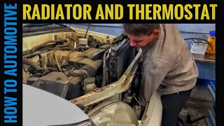 How to Replace the Radiator, Thermostat, and Hoses on a 2000-2006 Toyota Tundra with 4.7L Engine