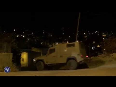 IDF Nighttime Operation to Search For Three Kidnapped Israelis
