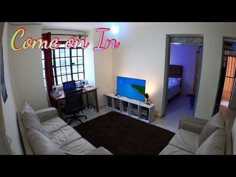 ONE BEDROOM TOUR | STUDENT ACCOMMODATION | NAIROBI Apartment