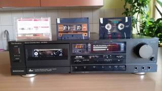 Technics RS-B605 - play with noise reduction dolby C