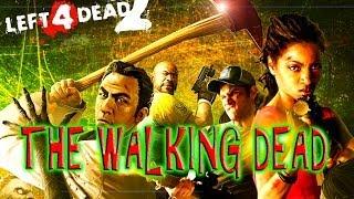 "LEFT 4 DEAD 2 PC GAMEPLAY GTX 690 1080P  ""THE WALKING DEAD"" VERSION"