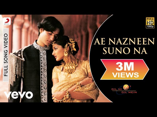 A.R. Rahman - Ae Nazneen Best Video Dil Hi Dil Mein Sonali Bendre Abhijeet