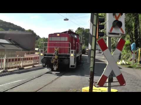 Betrieb wie auf der Modellbahn - Strecke Gevelsberg - Ennepetal - Altenvoerde