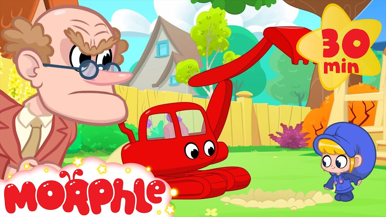 Morphle And The Angry Neighbour Animation Videos For Kids Youtube From dinosaus to cars, construction vehicles like diggers, dumptrucks and cranes to pets like cats dogs and lions! morphle and the angry neighbour animation videos for kids