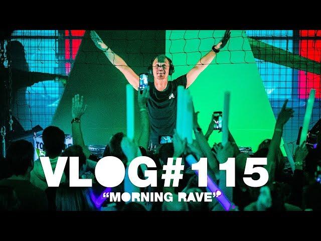 Armin VLOG #115 - Morning Rave