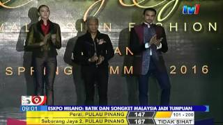 EKSPO MILANO – BATIK DAN SONGKET MALAYSIA JADI TUMPUAN [5 OKT 2015]