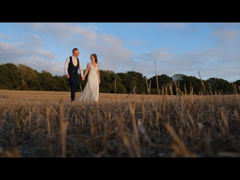 The wedding of Rebecca & Dan at Southdowns Manor