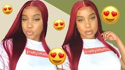 NEW Deep Part Red Hair Wig Under $50 | Hot Girl Summer Approved