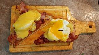 Яйцо Бенедикт под голландским соусом. Вкусный и простой рецепт