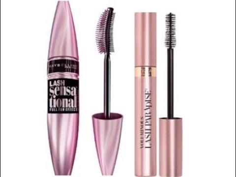 65f36a45761 Loreal Lash Paradise Mascara VS Maybelline Lash Sensational Mascara ...