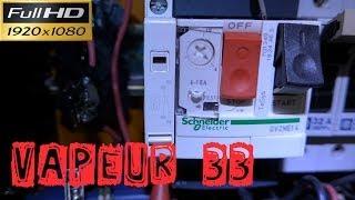 Vapeur33-Remplacement d'un relais thermique par un disjoncteur moteur magnétothermique-GV2