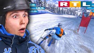 Skifahren nur für Profis! | RTL Wintersport Simulator