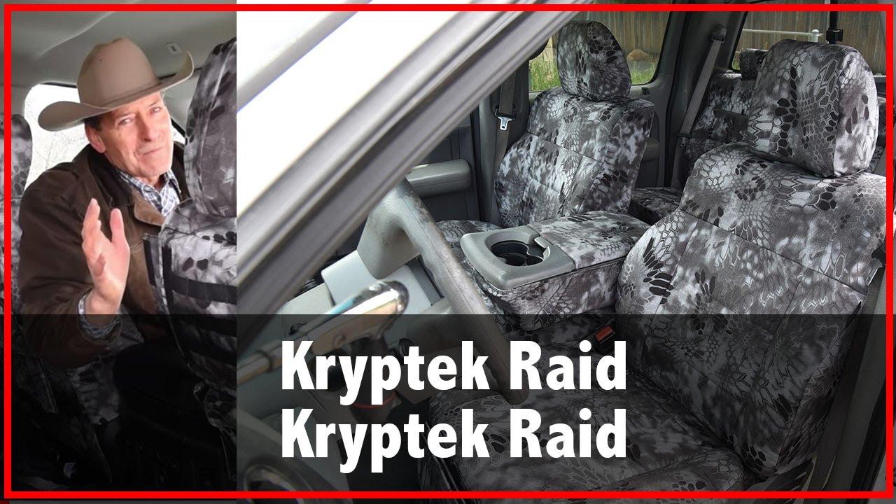 2018 Ram 3500 Seat Covers Kryptek Raid Camo Youtube