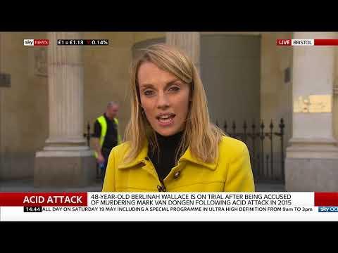 Accused in Bristol acid attack murder cries - Rebecca Williams