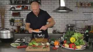 Рецепт лосося на пару в мультишефе BORK U800 от Дениса Семенихина