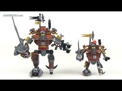Lego Movie Metalbeard Comparison 70807 Duel Vs 70810 Sea Cow Versions Vloggest
