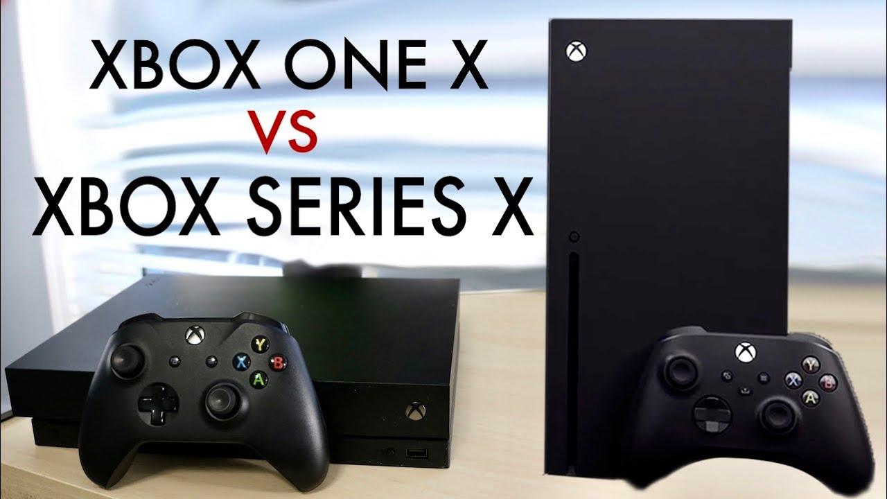 Xbox Series X Vs Xbox One X Quick Comparison Youtube