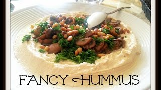 Ultra Fancy Hummus--for Veggie And Meat Lovers Too!  Feast In The Middle East:episode 10