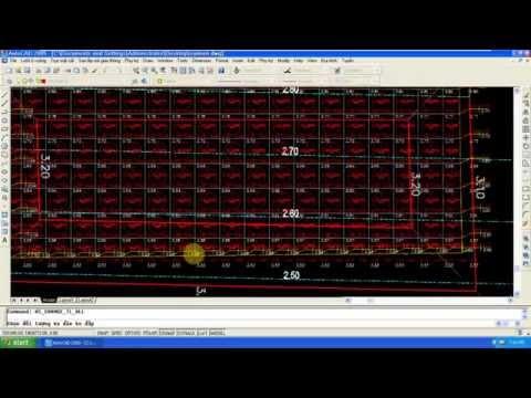 Ví dụ đơn giản về san nền sử dụng phần mềm HS