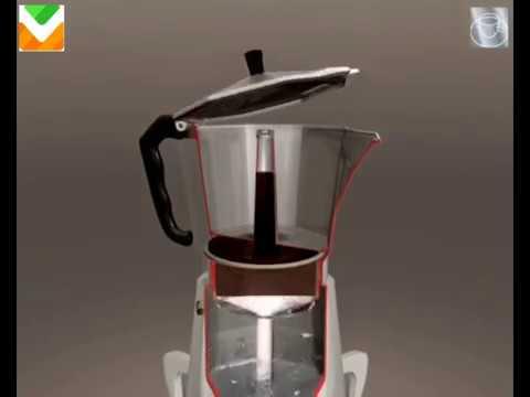 Гейзерная кофеварка сулпак
