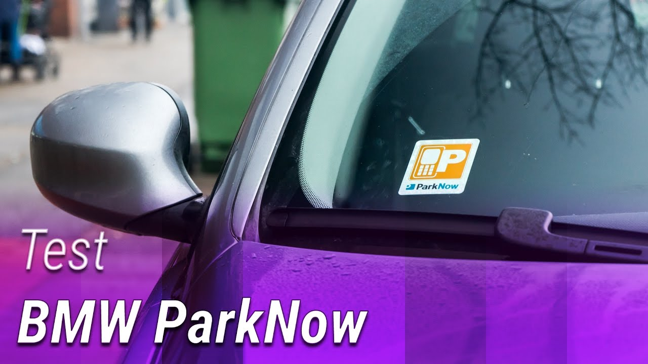 bmw parknow parkticket mit dem smartphone kaufen test. Black Bedroom Furniture Sets. Home Design Ideas