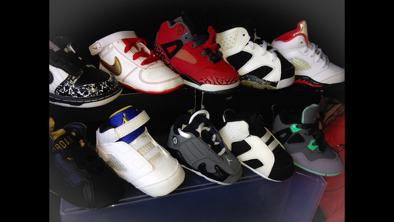 jordan and nike shoe collection youtube