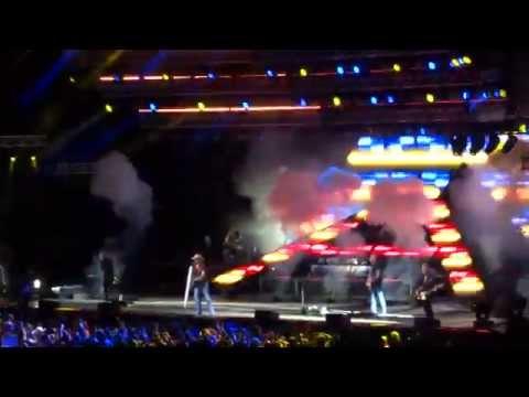 Crazy Town - Jason Aldean | Burn It Down Tour 2014 - Tampa