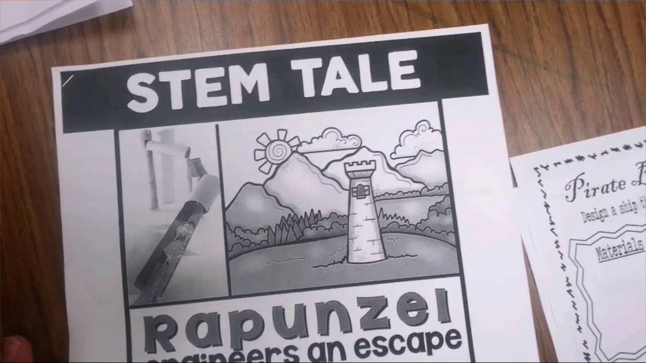 Rapunzel Engineers An Escape A First Grade Stem Activity Youtube