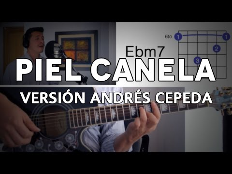 Piel Canela Tutorial Cover - Guitarra [Mauro Martinez]